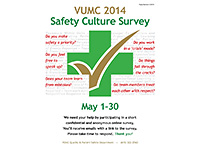 hospital safety culture survey poster